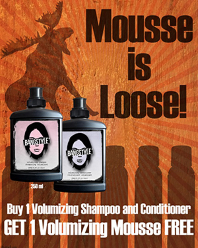 Bangstyle Mousse Loose
