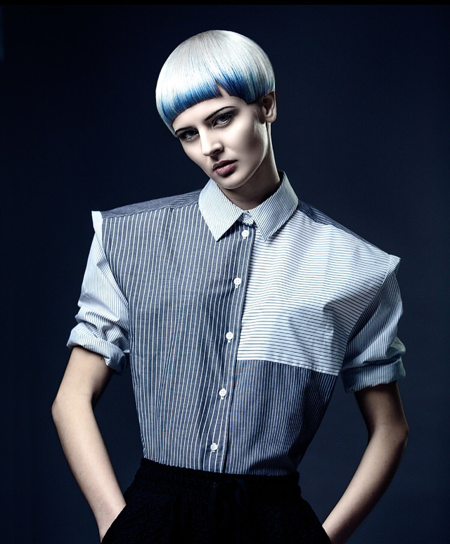From The Others collection hair by Paul Stafford  Colour Aidan Bradley  Photo Lee Mitchell