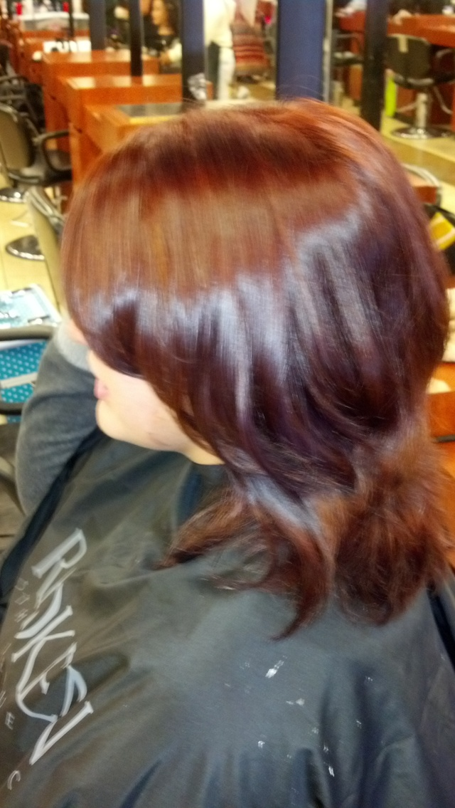 color cut and style