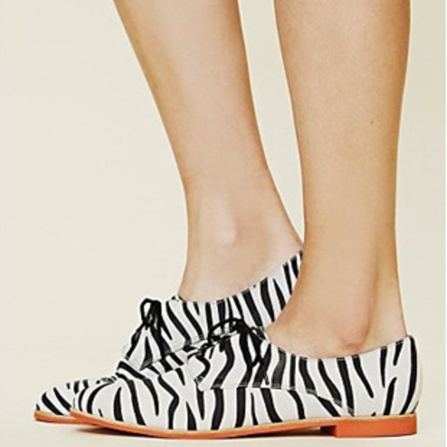 Free People Zebra Print