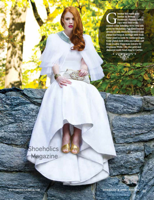 Bridal issue of Shoeholics magazine