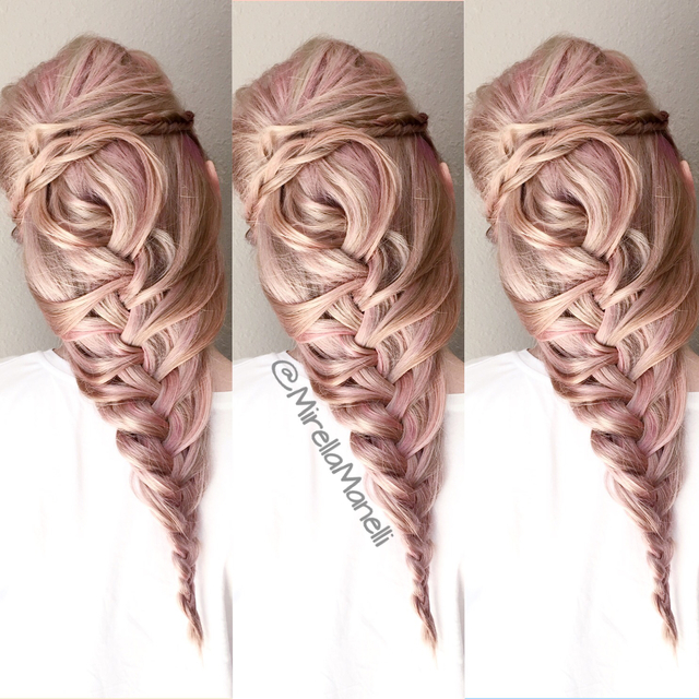Blush Braid by Mirella Manelli