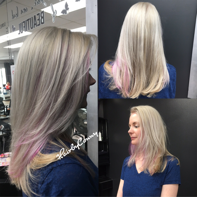 Color,cut and style