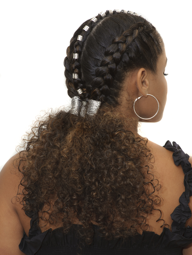 its all about texture and braids