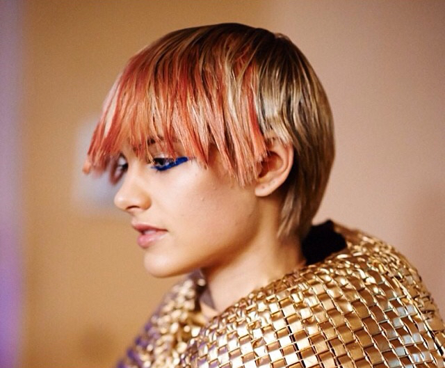 HAIR COLOR KATE REID, SHOW DIRECTOR KEVIN MURPHY, PHOTO LUIS MURPHY