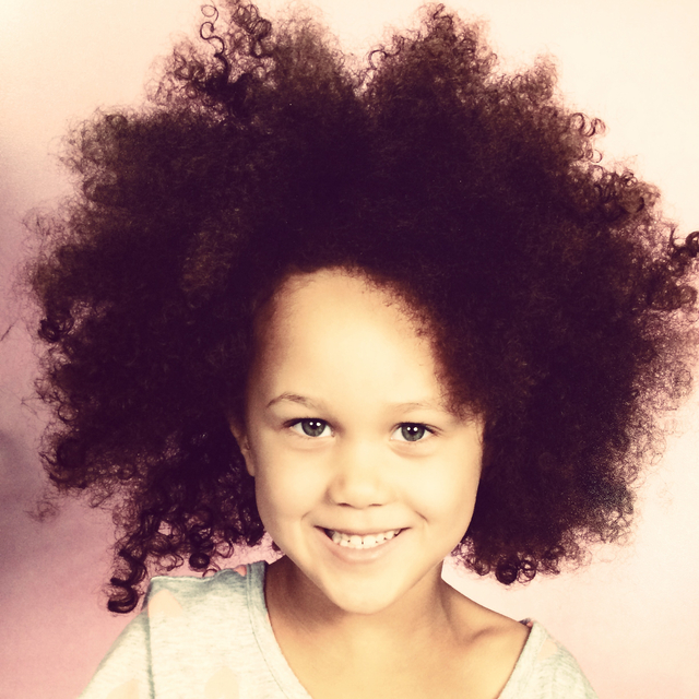 Kids style rocking the natural texture Hair by Nicole Young