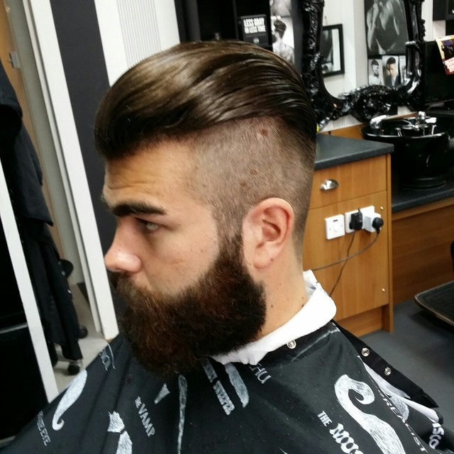 Undercut slick back GENTS HFM