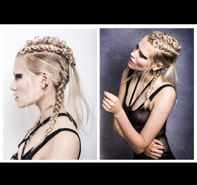knotting Scalp Braid Editorial