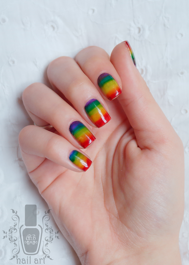 Stripey rainbow