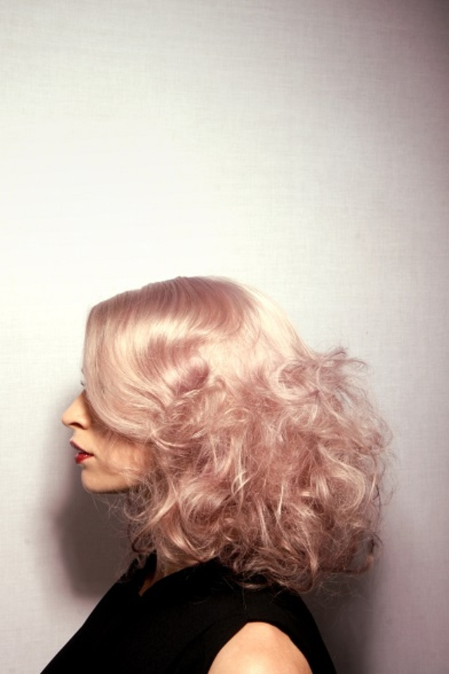 Smoky pink and dusky violet,  texture