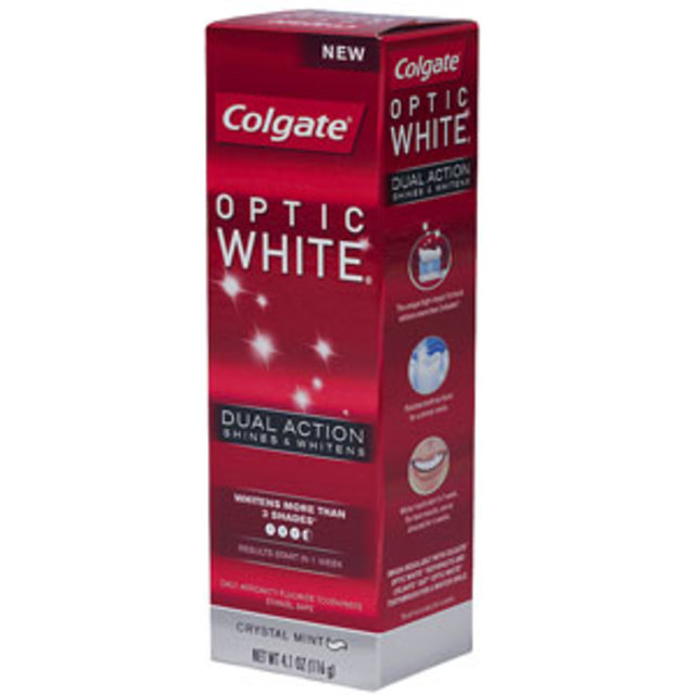 Colgate Optic White Dual Action Toothpaste