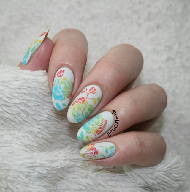 Watercolor inspired floral