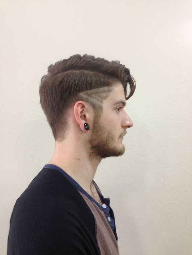 edgy men's cut