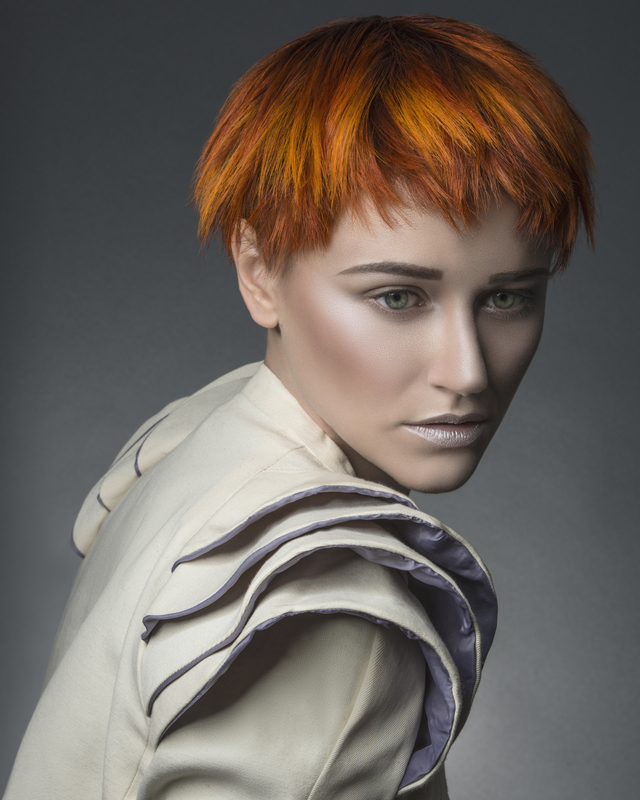 Hair by Clayde Baumann - Winning Collection for British Colour Technician of The Year 2014