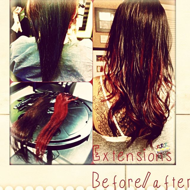 extentions before/after