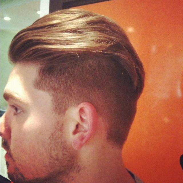 extremely long length on top and short sides