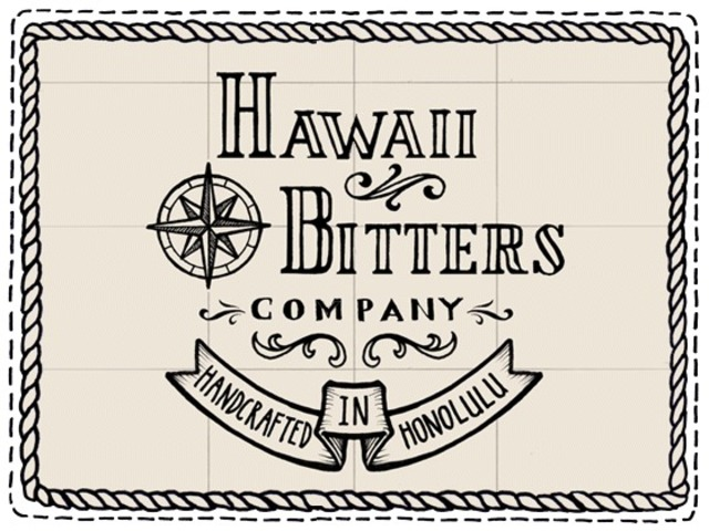 hawaii bitters logo square