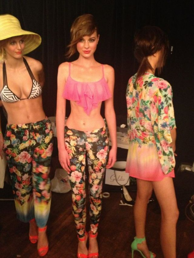 MSFW Backstage 1