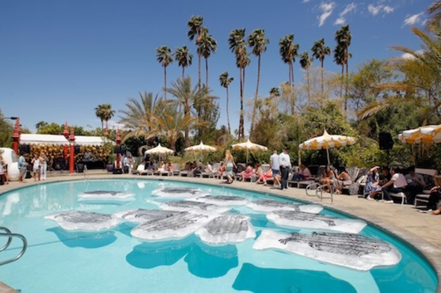 Mulberry BBQ Pool Party At Coachella
