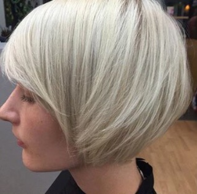 Winter inspiration ice blonde