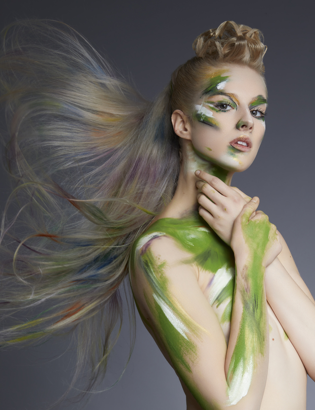 Mandy Rogers-Hunt & Gather hair company-Neo Impressionist Collection image 1
