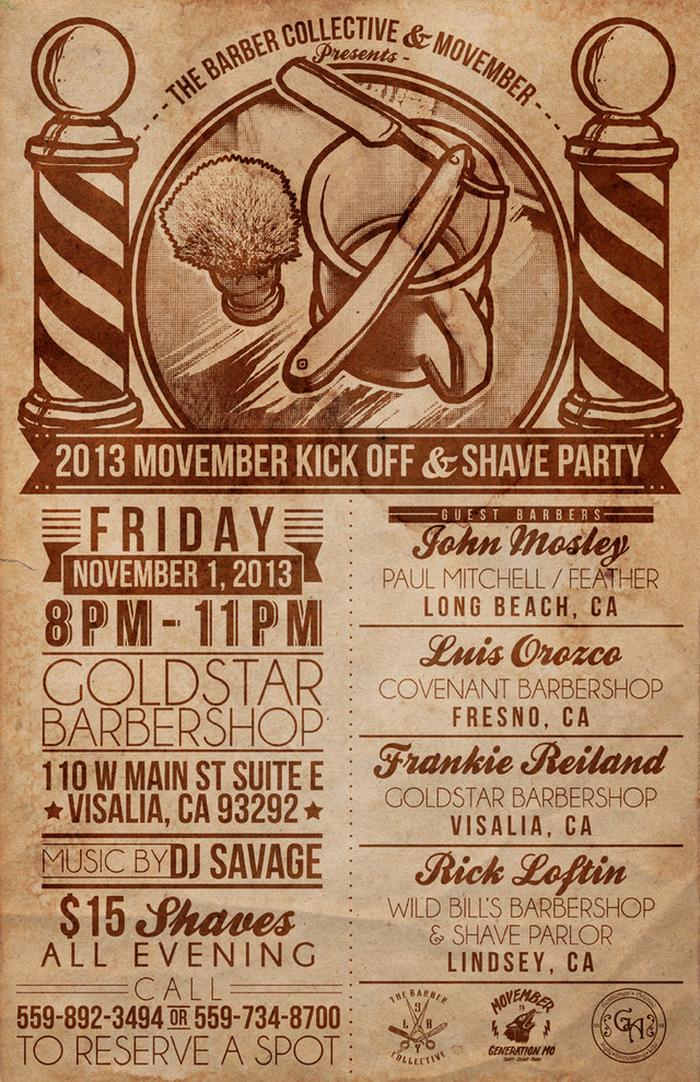 2013 MOVEMBER Poster
