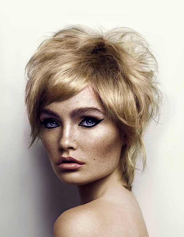 Hair geoffrey Herberg Model Olivia wells  Photo Freya Elizabeth Bland