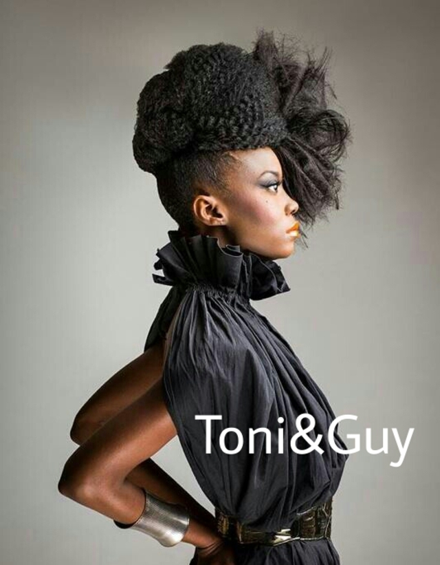 Shmyrae Perkins @Toni&Guy Dallas Galleria
