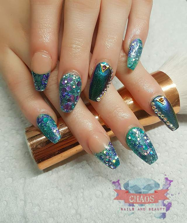 Mermaid glitter