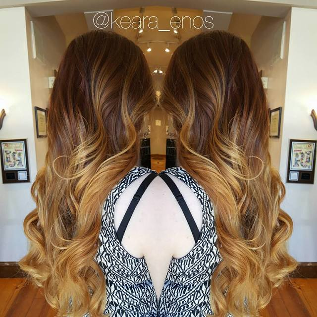 Luxurious ombre
