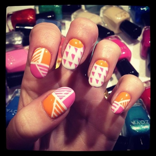 nailartlove-neon-geometric-nails