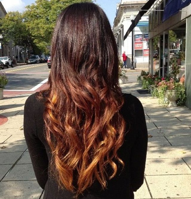 fall ombre