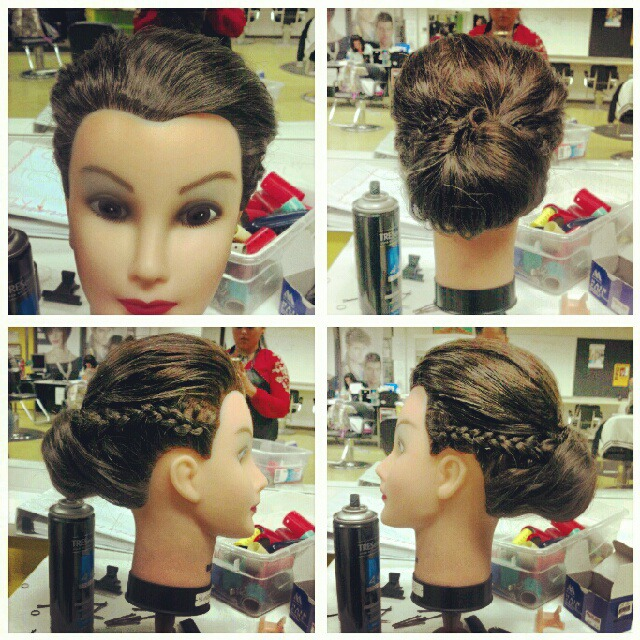 fancy up-do