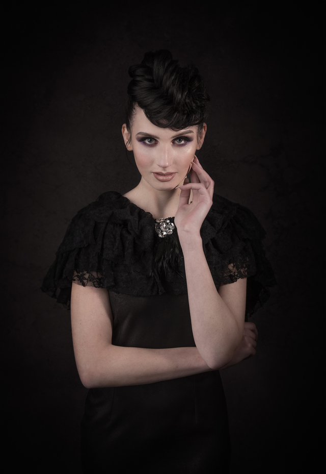 black bridal collection