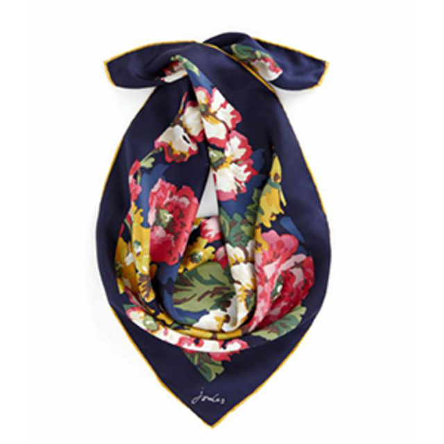 JOULES Pickford Floral Scarf