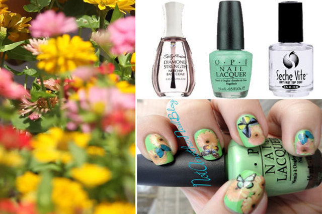 DIY-NAIL-ART-SPRING-FLOWERS