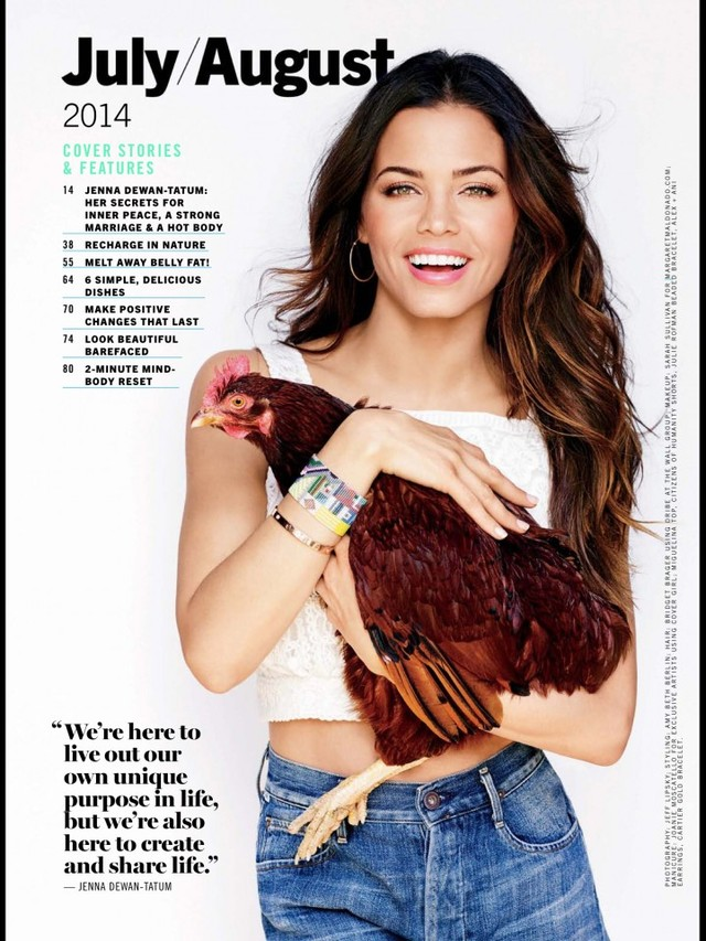 Jenna Dewan Tatem | Natural Health Magazine 2014
