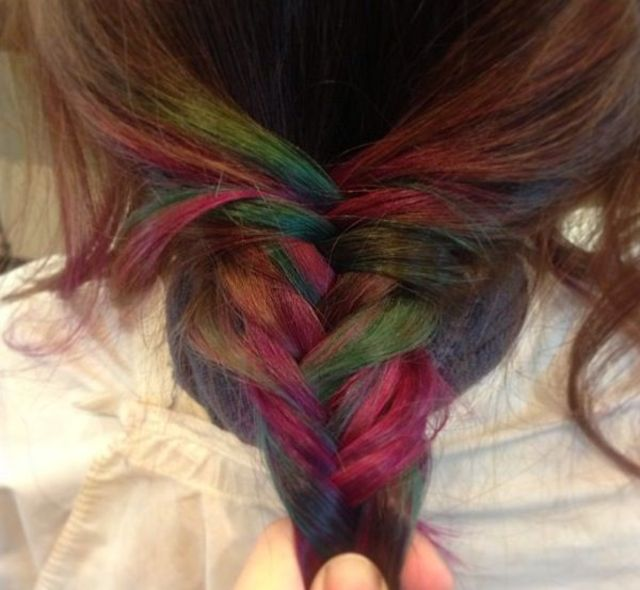 fish tail rainbow
