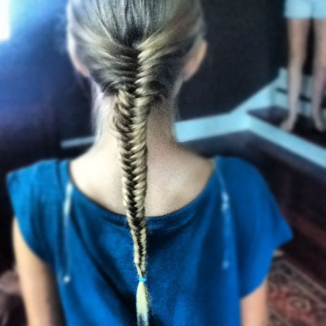 fish tail!