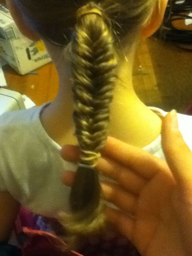 fishtail braid <--