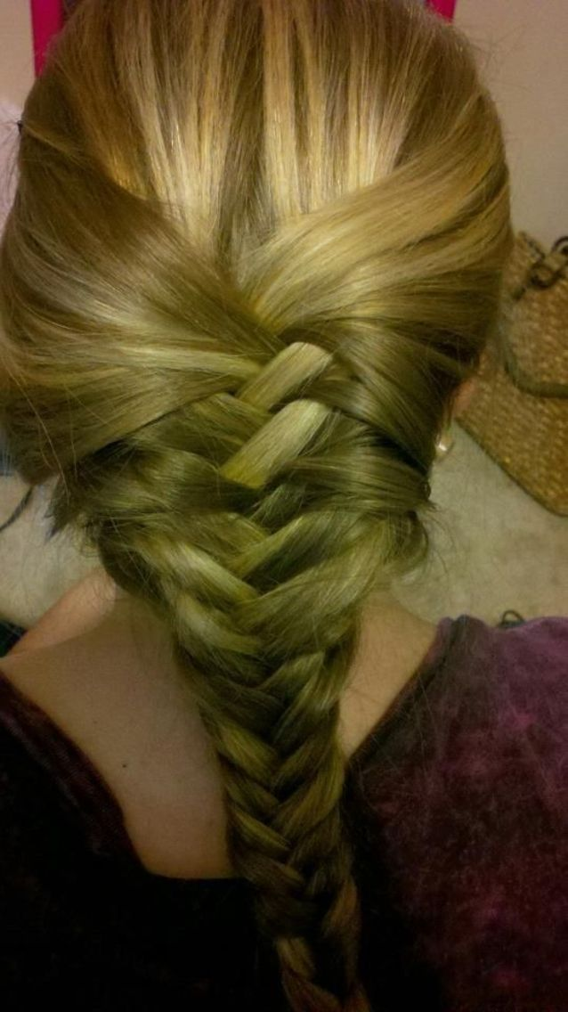 fishtail braid!(: