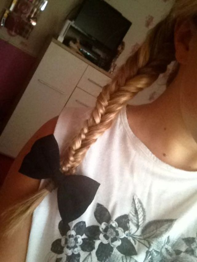 fishtail braid:-)