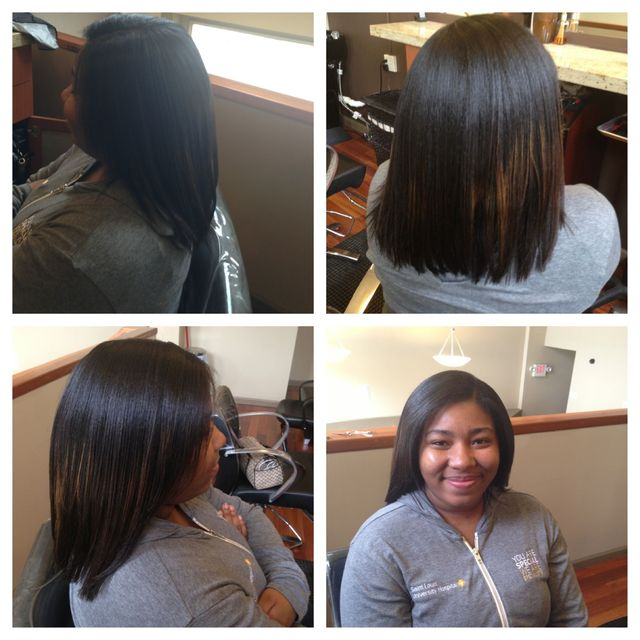 flat iron and trim
