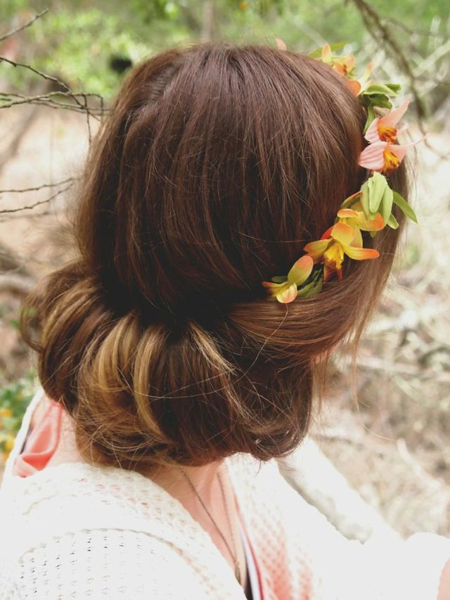 flower child updo