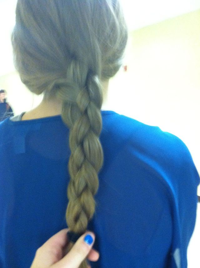 four piece braid