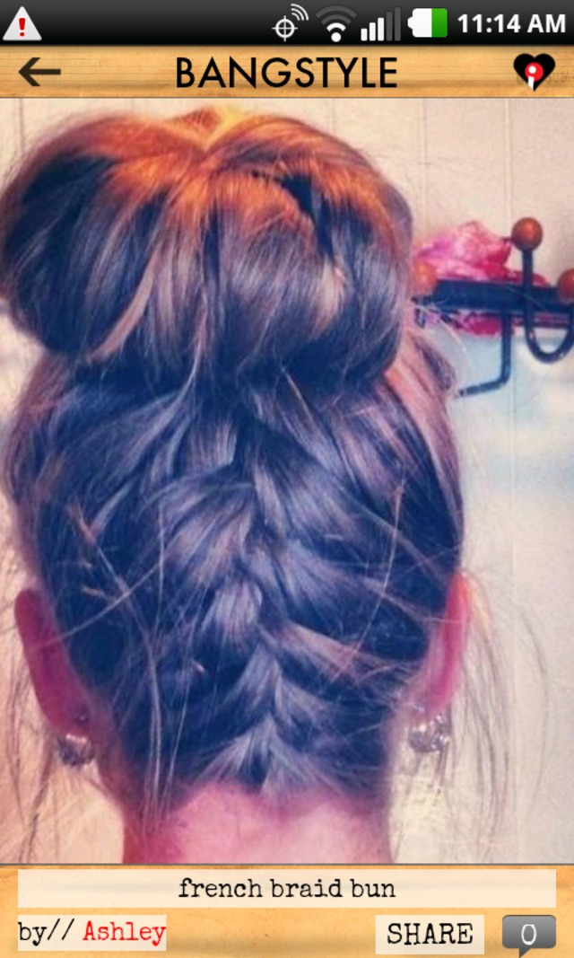 frenchbraid bun