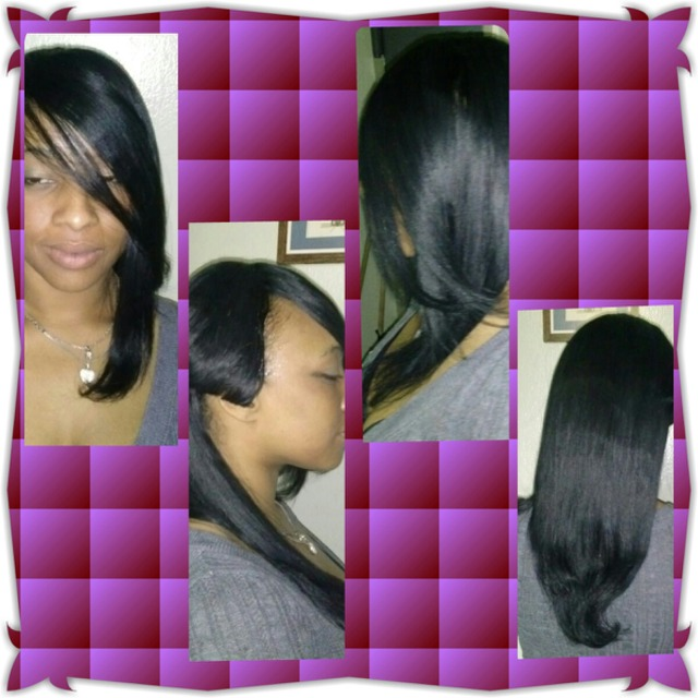 full head weave