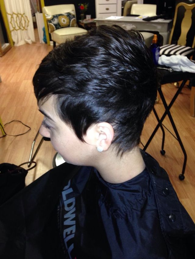 fun pixie cut, Jennifer Lawrence inspired