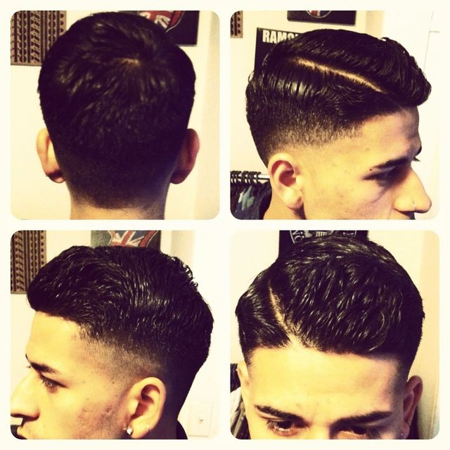 gentleman's haircut