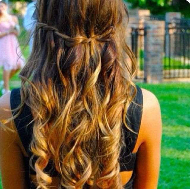 girly curls